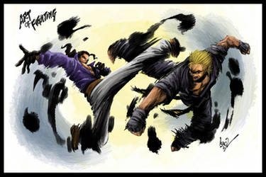 Art of Fighting by irzaqi