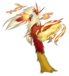 Blaze Kick (Blaziken) by Gladecleaver