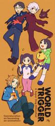 World Trigger and Super Dog Rilienthal by nakashima3