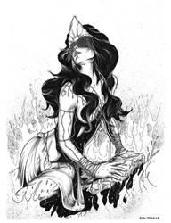 Iemanja - Goddess of the Seas by antoniocoltro
