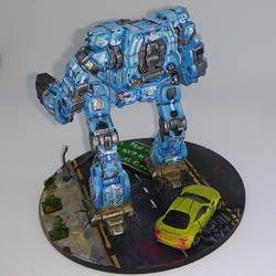 MWO Timberwolf, N Scale - Side by Karlosrolero