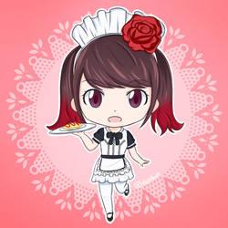 Miku - Maid by iichikun
