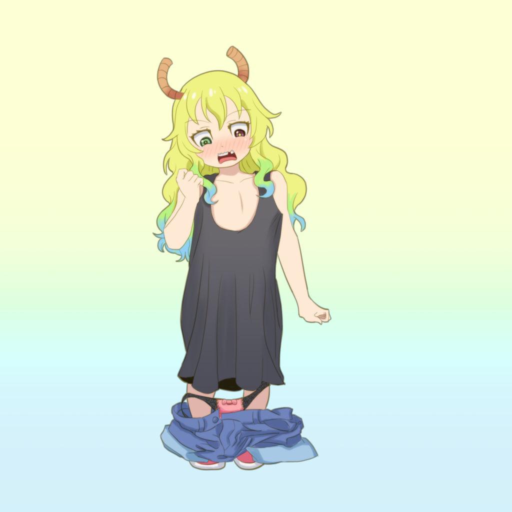 Daily Regress-Lucoa (Miss Kobayashi's Dragon Maid) by Ar-Kayn