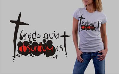 Credo T-shirt by celiah