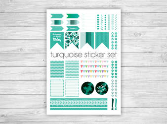 Life Planner Printable Sticker Sheets by celiah