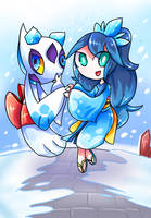 Snowy by Morpang
