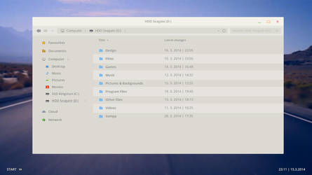 Windows 8 Milky Theme [concept] by ToRTeEn
