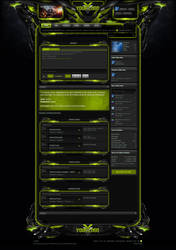 Xenforo Theme Enforcer Green by Nulumia by Nulumia