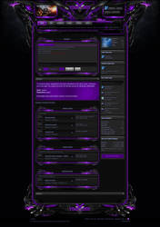 Xenforo Theme Enforcer Purple by Nulumia by Nulumia