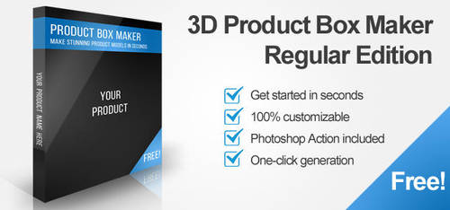 Photoshop Product Box Maker by Nulumia