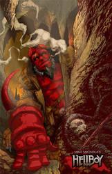 Hellboy Colored by acosorio
