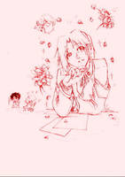 Konoha High- Sakura by ryuusei-illusion