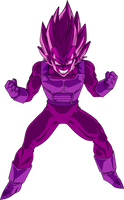 Copy Vegeta Dragon Ball Super by obsolete00