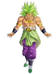 Broly Fusion by obsolete00