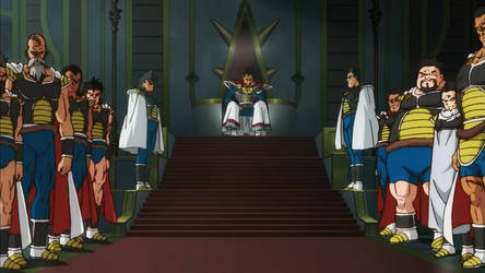 King Vegeta and his Subjects by obsolete00