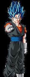 Super Saiyan Blue Evolution Vegito by obsolete00