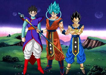 Dragon Ball Super New Gods by obsolete00