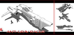 Grav Racer A01 by karash-amerius