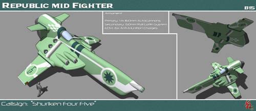 Strike Medium Fighter B15 by karash-amerius