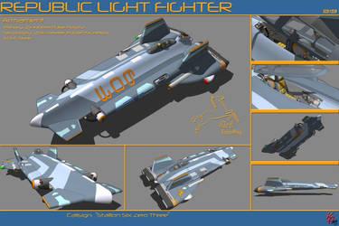 Strike Light Fighter B19 by karash-amerius