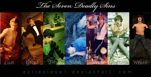 The Seven Deadly Sins- Group by raemarshall