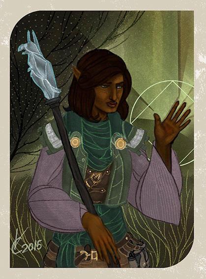 Dragon Age: Inquisition Companion Card by PhoenixFuryBane