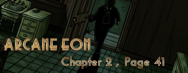 Arcane Eon Page 41 by PhoenixFuryBane