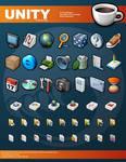 Unity Icons by Tiggz