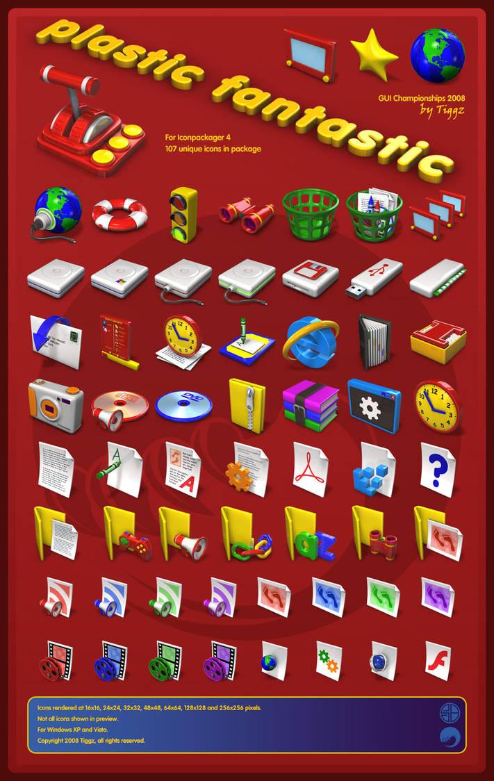Plastic Fantastic GUIC 2008 by Tiggz