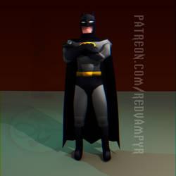 Batman [LOWPOLY] by RedVampyr