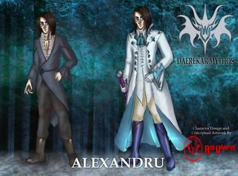 Alexandru [DAEREKAR MYTHOS CHRONICLES] by RedVampyr