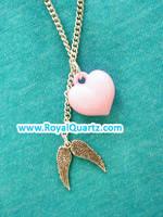 Angelic Heart Necklace by royalquartz
