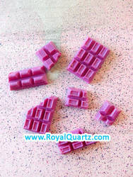 Fuchsia Chocolate Bars by royalquartz