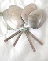 Four Antique 'S.H. Co.' Spoons by royalquartz