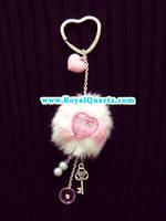 Key of Heart Keychain by royalquartz