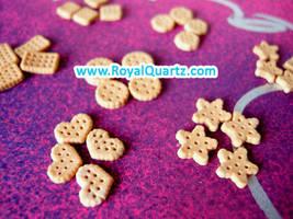 Tan Sandwich Cookies by royalquartz