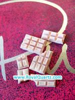 Light Pink Chocolate Bars by royalquartz