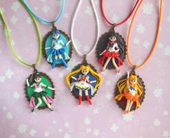 Sailor Moon Inner Senshi Cameos by LittleBreeze