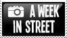A WEEK IN STREET stamp by wchild