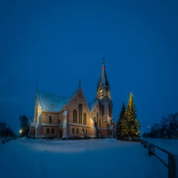 The Church of Kemi, Finland by wchild