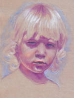 Study of a boy by oosterbe