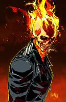 Ghost Rider: Danny Ketch by FelipeSmith