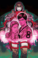 TRANSLUCID # 2 Cover (Variant) by FelipeSmith