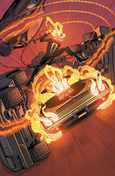 All-New Ghost Rider #12 Cover by FelipeSmith