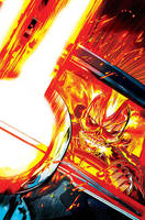Ghost Rider #2 Cover (2016) by FelipeSmith