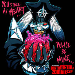 Death Metal Zombie Cop: Happy Bloody Valentine's! by FelipeSmith