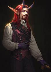 CM : Theron Darksunder by Aranggi