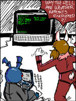 Military Encryptions... by shirochan