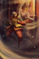 Tenzin, the baws! by MetaMachine