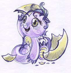 The hatching of the young dragon by Genetta-TO